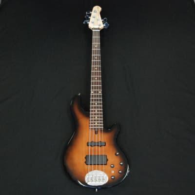 Lakland USA 55-14 Classic 5 String Bass Tobacco Sunburst for sale