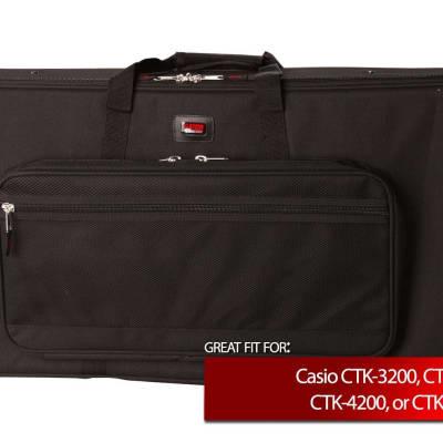 Gator Cases Keyboard Case for Casio CTK-3200, CTK-4000, CTK-4200, CTK-4400