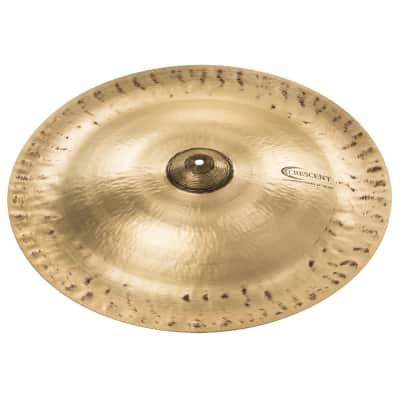 "Sabian H22CH Crescent Hammertone Chinese China Cymbal Vintage Dark Medium 22"""