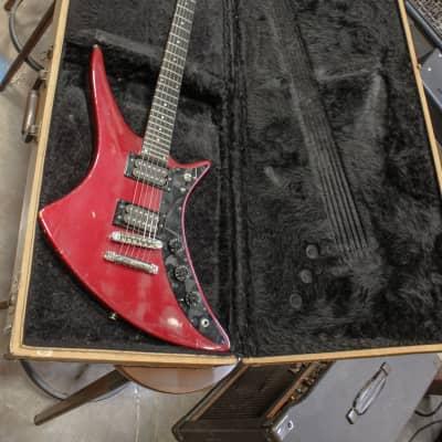 Guild Vintage X-79 Skyhawk Red w/ Original Hardshell Case for sale