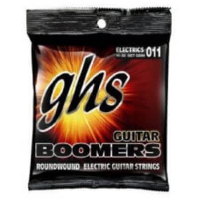 GHS GBM Guitar Boomers Electric Guitar Strings 11-50