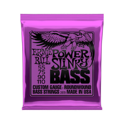 NEW Ernie Ball Power Slinky Bass - .055-.110