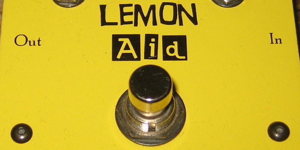 J. Rockett Lemon Aid Boost/Overdrive   Reverb