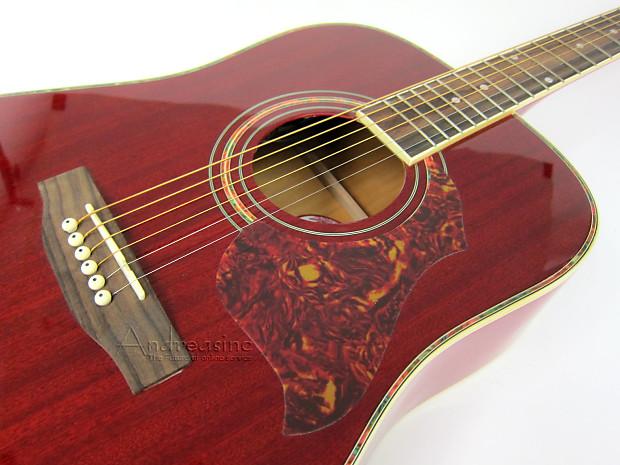 kona dreadnought acoustic electric guitar w e q reverb. Black Bedroom Furniture Sets. Home Design Ideas