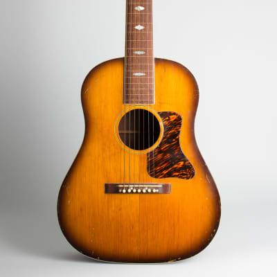 Gibson  Roy Smeck Radio Grande Custom 7-String Hawaiian Acoustic Guitar,  c. 1935, brown gig bag case. for sale