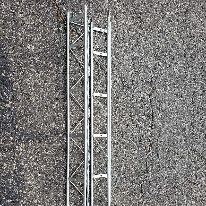 Truss (2) 6″ Wide x 5' Long Triangular Aluminum Truss 2006 Aluminum