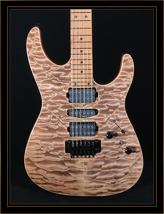 Tom Anderson Angel with Quilt Maple Top in Satin Natural Mocha