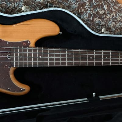 Fender American Deluxe Jazz Bass V 2006 Natural Amber for sale