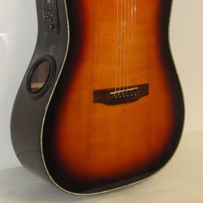 Boulder Creek Solitaire ER2-CAE Sunburst Acoustic Electric Guitar for sale