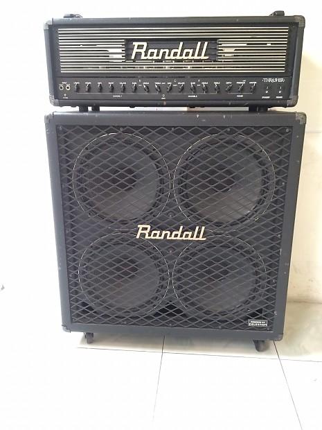 Randall Thrasher 120W Head Cabinet Tube Amplifier 2015 black
