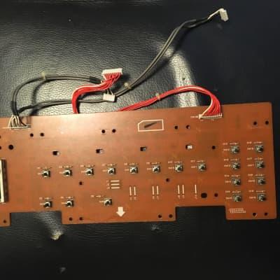 korg x3 & x2 left switch board klm-1647