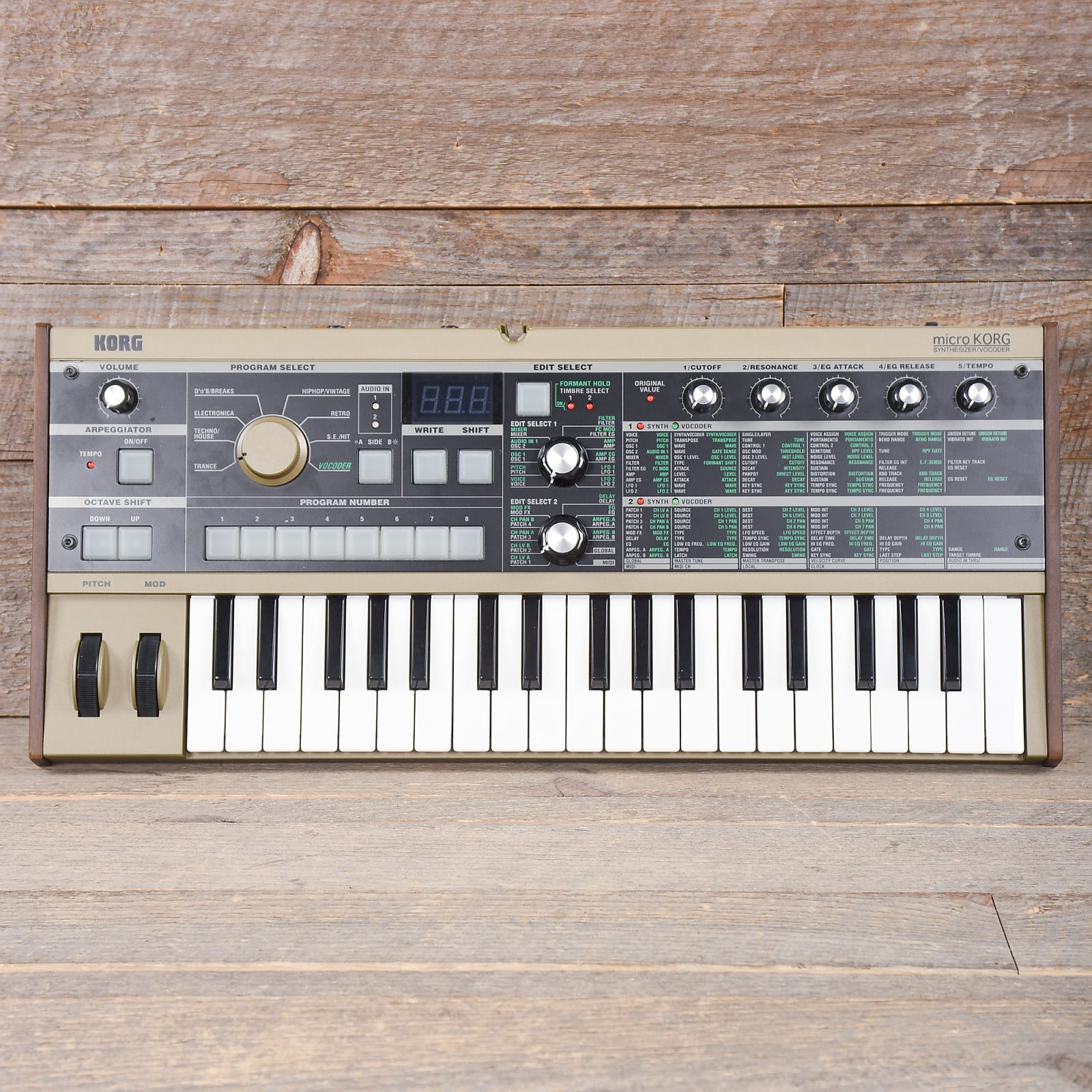 Korg MicroKorg 37-Mini Key Synthesizer & Vocoder USED