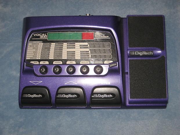 digitech vocal 300 effects processor pedal voc300v w manual reverb. Black Bedroom Furniture Sets. Home Design Ideas