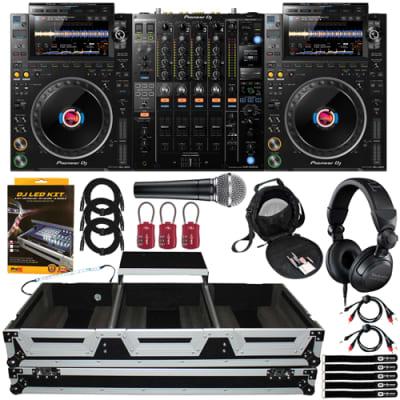 Pioneer CDJ-3000 Flagship Multi Players w DJM-900NXS2 DJ Mixer & Coffin Case