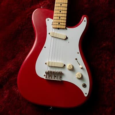 """c.1981-1982 Fender Bullet Telecaster Style Vintage Guitar """"Red"""" for sale"""