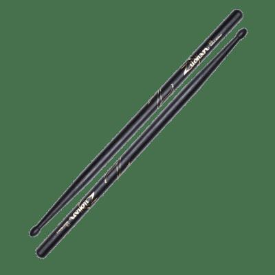 Zildjian Z5BB 5B Oval Wood Tip Black (Pair) Drum Sticks