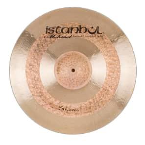 """Istanbul Mehmet 14"""" Sultan Hi-Hat Cymbal (Top)"""