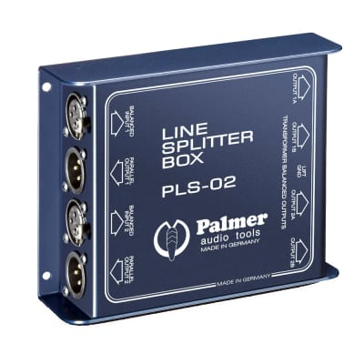Palmer Audio Tools PLS 02 Dual Channel Line Splitter