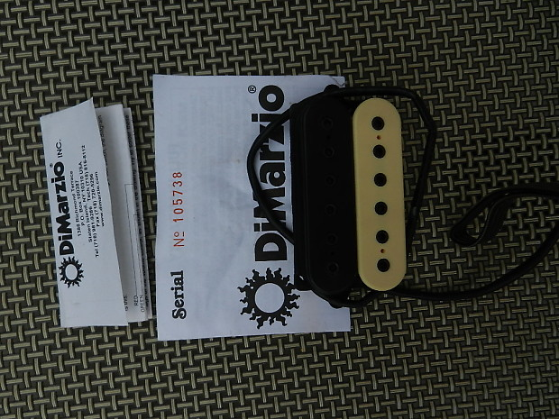 Dimarzio Evolution Wiring Diagram