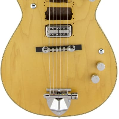 Gretsch  G6131T-MY Malcolm Young Signature Jet Ebony Fingerboard Natural w/case for sale