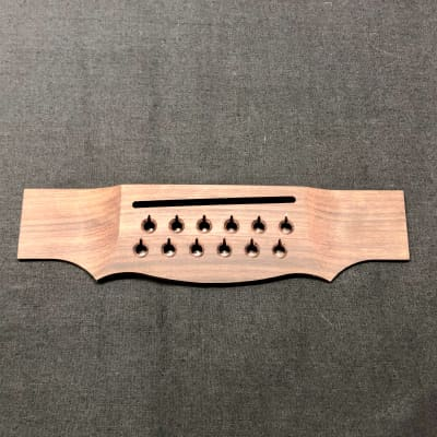 Guild 008-0010-020 Acoustic Guitar Bridge for USA  12 string guitars rosewood