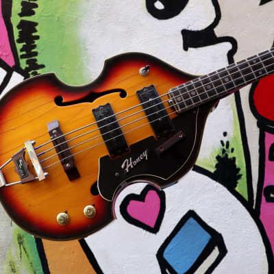 Honey / Teisco SEB-30 Violin Bass