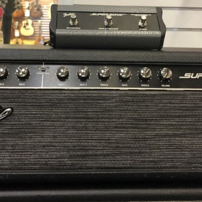 Fender Fender Super-Sonic 60 Head – Black for sale