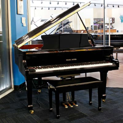 Pearl River 4'11 Baby Grand Piano with Player system Acoustic Piano, Ex #1247728