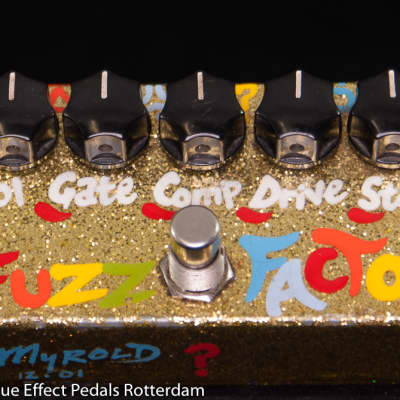 Zvex Fuzz Factory 2001  Hand painted by Myrold,  Limited to 40 copies, as used by Matt Bellamy