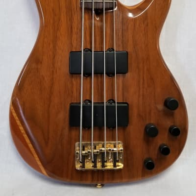 Fender 2004 American Deluxe Zone Bass, Walnut, W/Case - 0199500892 for sale