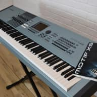 Yamaha Motif XS 8 keyboard synthesizer near MINT-used 88 key piano for sale