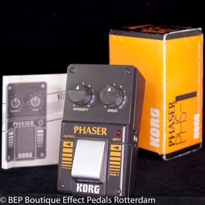 Korg PHS-1 Phaser s/n 001315 early 80's Japan for sale