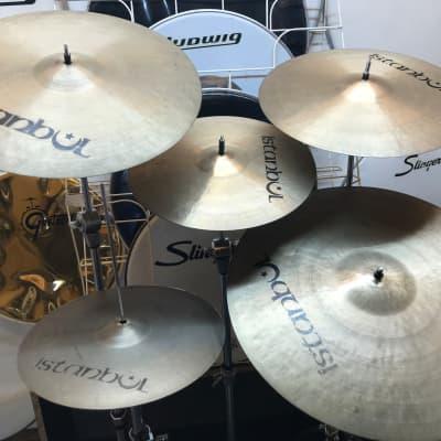 Istanbul cymbal set 6 lot  Pre split 20/18/16/14