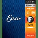 Elixir  Electric Guitar NanoWeb Coating 7-String, .011 - .059  Box Of 6