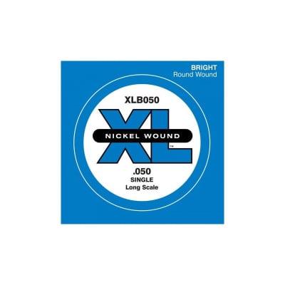 D'Addario Nickel Wound Single Bass String XLB050