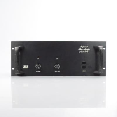 BGW 750C Professional Power Amplifier 750 Watt Stereo Studio Rack Amp #33842