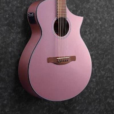 Ibanez AEWC10RGM Acoustic/Electric Guitar *Rose Gold Metallic High Gloss*