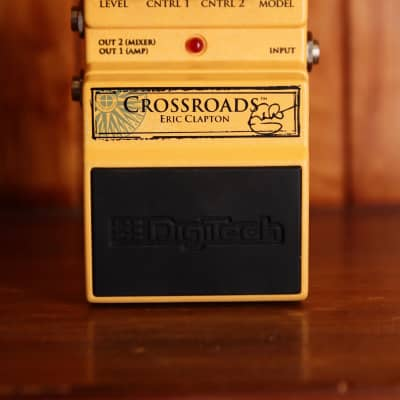 Digitech Crossroads Eric Clapton Overdrive Pedal Pre-Owned for sale