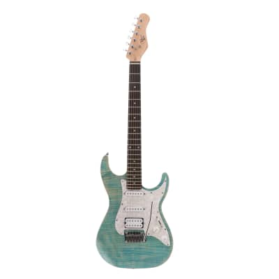 Michael Kelly 1963 Blue Jean Wash Electric Guitar for sale