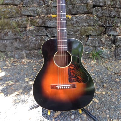 Kalamazoo  Acoustic KG-11 Circa 1935   Tobacco Burst  Great shape, Very Clean and player. for sale
