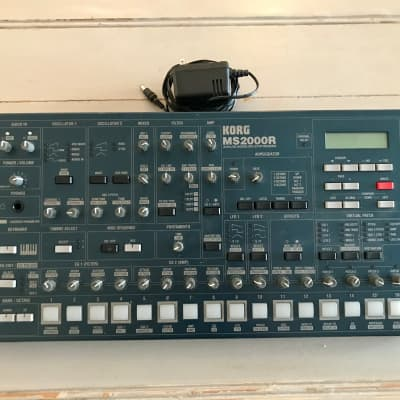 Korg MS2000R with original PSU