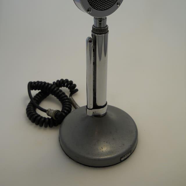 Astatic Ham Radio Mic D-104 Lollipop Vintage 3 Pin Great Cond Tested CB Talk Radio image