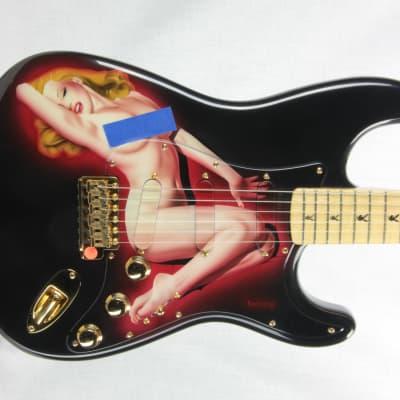 1994 Fender Custom Shop PLAYBOY Stratocaster MARILYN MONROE! 40th Anniversary strat Pamelina! for sale