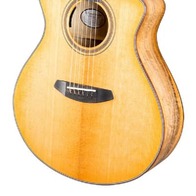 Breedlove Artista Concert Natural Shadow CE Acoustic Electric Guitar. Torrefied European-Myrtlewood for sale