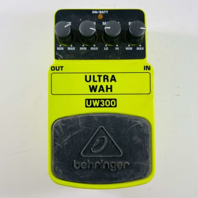 Behringer UW300 Ultra Wah *Sustainably Shipped*