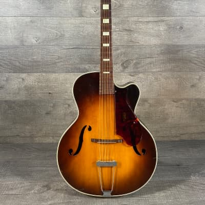 Harmony H-1310 Brilliant Cutaway 1955 Sunburst for sale