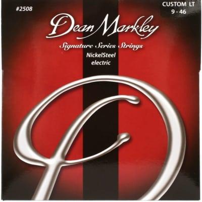 Dean Markley 2508 Signature Series Nickel Steel Electric Guitar Strings - Hybrid/Custom Light (9-46)