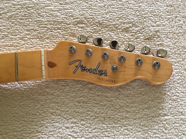 Revisión césped Presunción  Fender American Vintage 52 Hot Rod Telecaster Neck 52 RI     Reverb