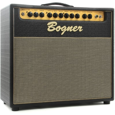 """Bogner Shiva 1x12"""" Handwired Closed-Ported Tube Combo Amplifier EL34 Dual Reverb (Open Box)"""