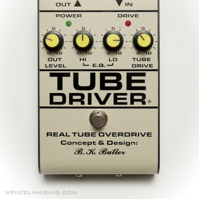 Tube Driver- NEW Direct from BK Butler with Bias -  Covid Relief Sale!  -Hand Made Original Design